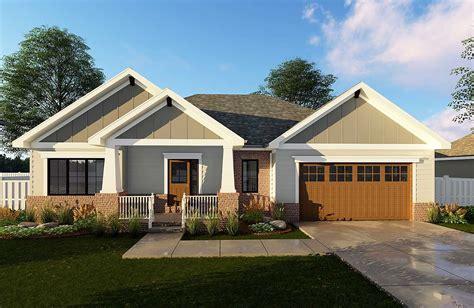 craftsman ranch house plan 62565dj 1st floor master