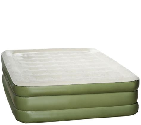 Sleep Air Mattress by Aerobed 18 Quot Air Mattress W Antimicrobial Sleep Surface Qvc