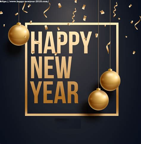 cards happy new year happy new year 2018 wallpaper and cards new year 2018