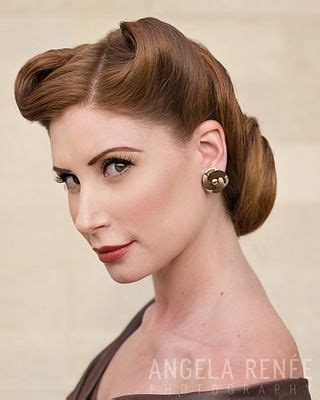 hairstyles in your forties 17 best ideas about 1940s hair on pinterest 40s hair