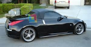 Nissan 350z With Spoiler Rear Spoiler Nissan 350z Roadster Cabriolet Spoiler On