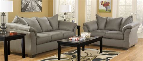 ashley furniture living room buy ashley furniture 7500538 7500535 set darcy cobblestone