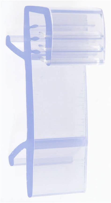 Plastic Shelf Talker Holders by Shelf Talker Clip Retail Shelving Sign 100 Units