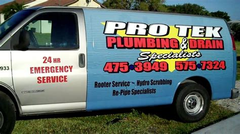 Plumbing Port Fl by Plumber Port Fl Protek Plumbing And Drain
