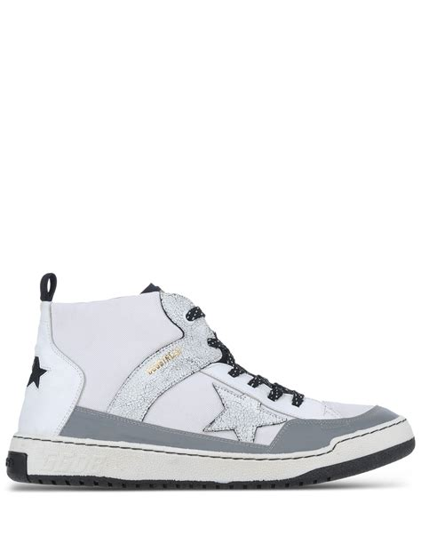 golden goose high top sneakers golden goose deluxe brand high top sneakers in white for