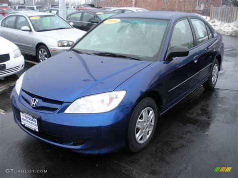 2004 eternal blue pearl honda civic value package sedan 24753336 gtcarlot car color