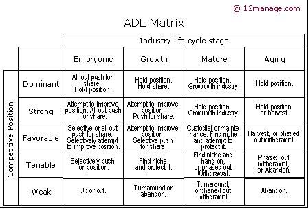 cadena de valor segun mckinsey de adl matrix kenniscentrum