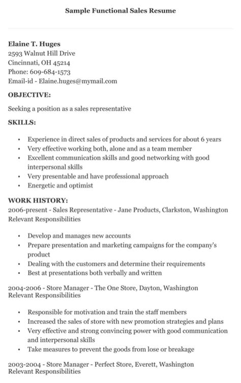 Resume Sles In Excel sles of functional resume 28 images functional resume sales associate career objective for