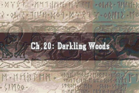 in darkling wood fire emblem the sacred stones part 48 chapter 20b darkling woods