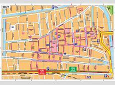 Plattegrond in Delft - Freebee Map Zandvoort