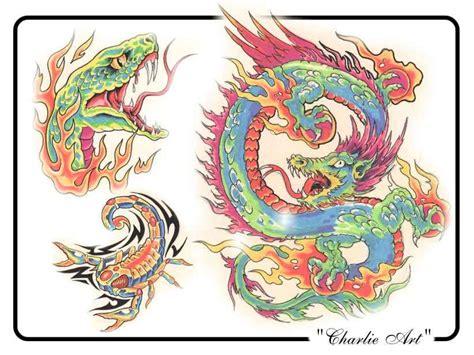 tattoo flash art pdf free tattoo flash charlieart4 jpg