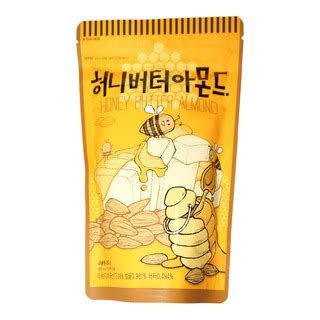 image for toms farm honey butter almond 250g from