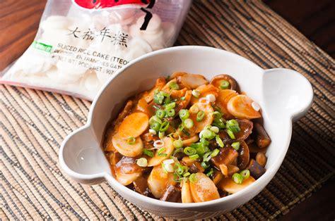 tteokbokki spicy korean rice cake stew herbivoracious