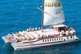 catamaran dolphin cruise gran canaria canarias extreme sports adventure boat trips