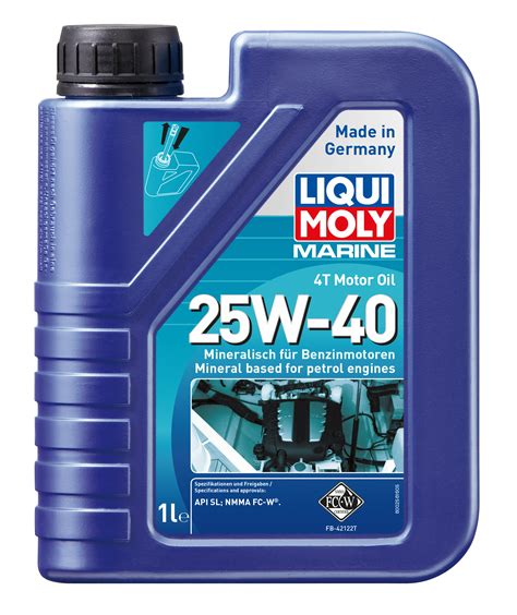 Liqui Moly 4t 10w40 Made In Germany 100 Originale marine 4t motor 25w 40