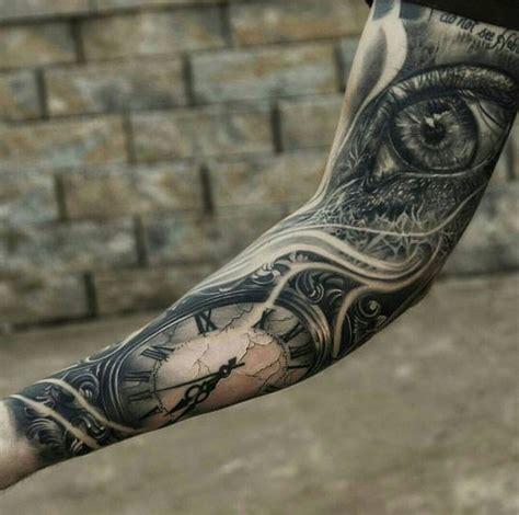 eyeball tattoo duration bras realiste oeil horloge tatouage r 233 aliste pinterest