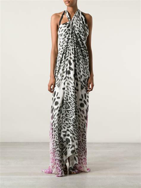 Just Cavalli Lace Giraffe Print Hobo by Roberto Cavalli Animal Print Dress Lyst
