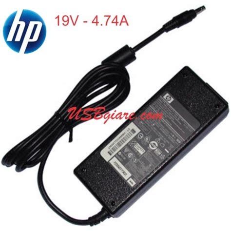 Adaptor Hp Compaq Pin 19v 4 74a Original Garansi 1 Th sạc laptop hp 19v 4 74a 90w đầu đạn