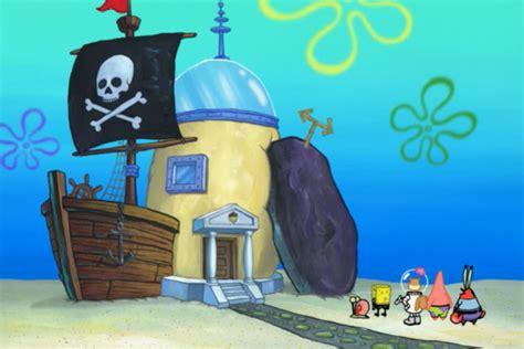 spongebob house spongebob house