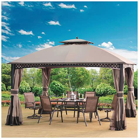 Wilson And Fisher Gazebo Wilson Fisher 174 10 X 12 Gazebo Big Lots