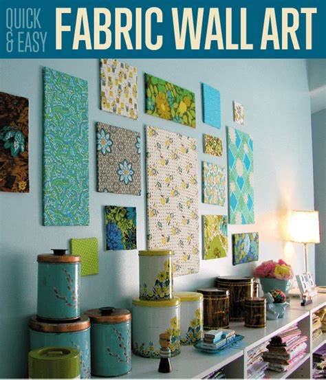 using fabric for home decor projects kovi fabric wall art diy projects craft ideas how to s for
