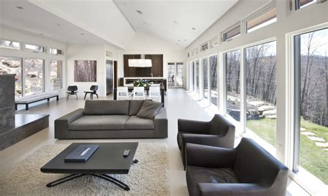 home interior design ottawa nature s drama laurentian long house contemporary