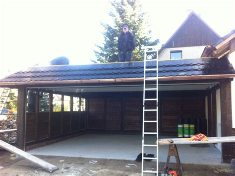 carport für auto feathered herringbone
