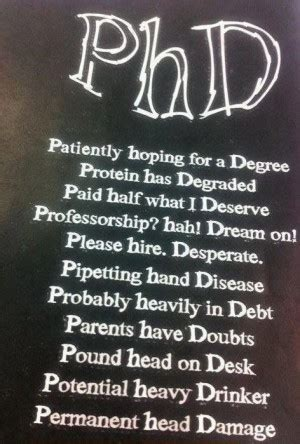 After Receiving Mba What Phd Program Should I Do by Quotes About Getting A Phd Quotesgram