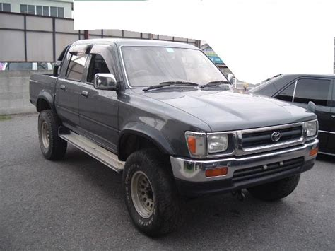 Toyota 1994 Up 1994 Toyota Hilux Up Pictures 2800cc Diesel