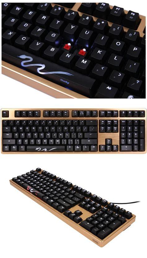 Keyboard Shine 3 Top And Bottom Cover Dk9008 Series Cmd Berkualitas ducky dk9008 shine 3 gold edition mech keyboard cherry