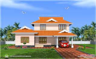 House Models And Plans 228 Square Meter Kerala Model House Exterior Kerala Home