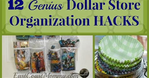 dollar store organization hacks east coast mommy 12 genius dollar store organization hacks