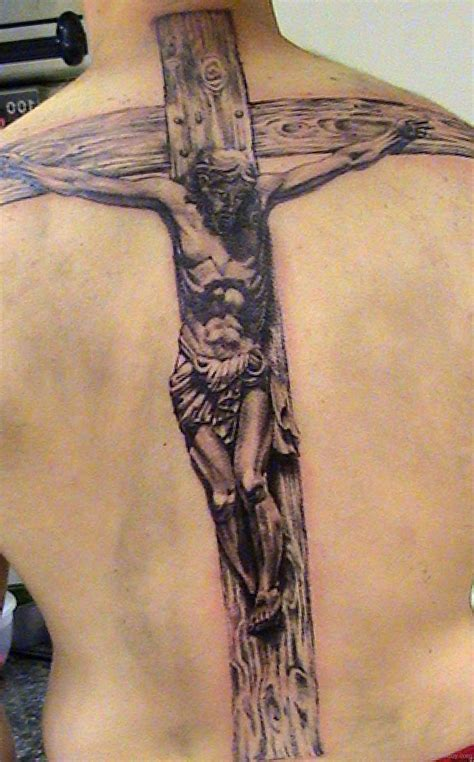 cross with jesus tattoos cross tattoos designs pictures page 23
