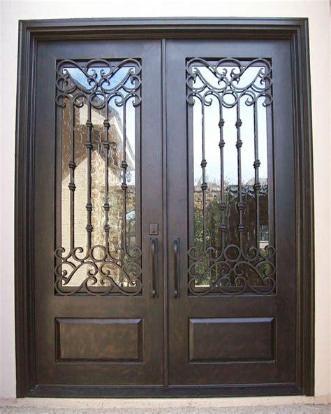 modern wrought iron doors images  pinterest