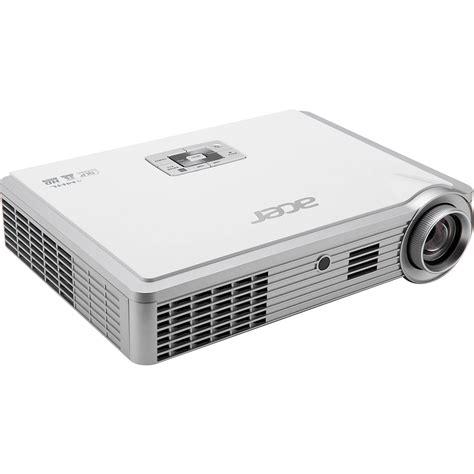 acer k335 3d dlp portable projector white mr jg711 009 b h