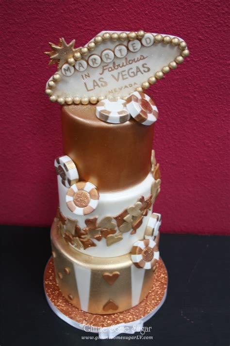 Wedding Cakes Vegas by Bronze And Copper Las Vegas Themed Wedding Cake Www