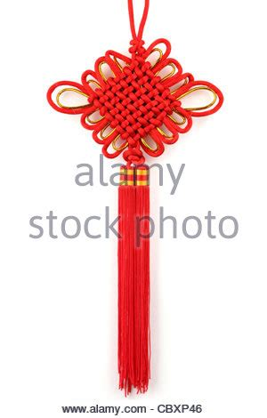 new year knots lucky knot for new year decoration stock photo
