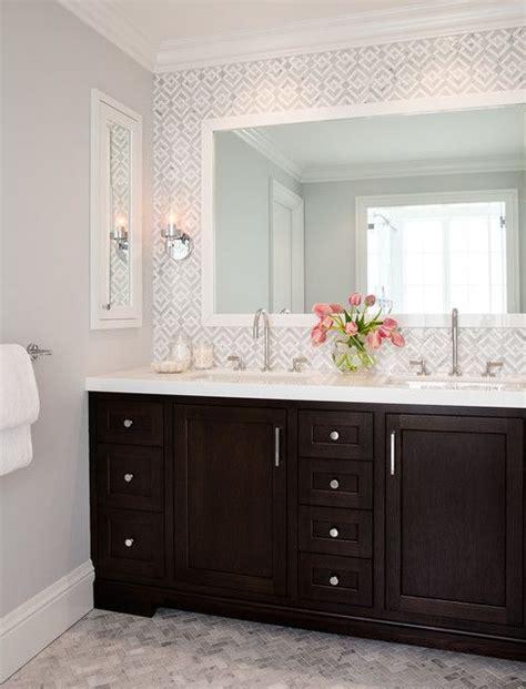 dark wood bathroom cabinets 25 best ideas about dark wood bathroom on pinterest