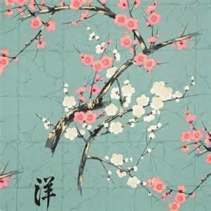 Ballard Designs Fabric teal alexander henry japanese flower fabric with gold