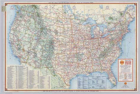 highway maps of the united states