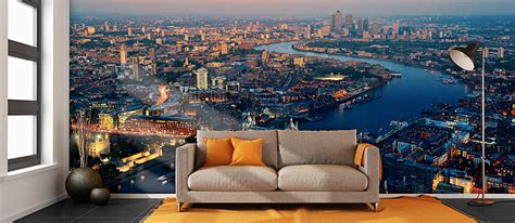london city skyline wallpaper london wall murals pictowall