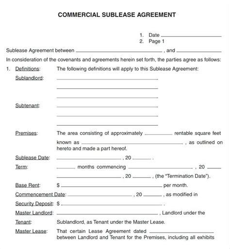 lease agreement for office space template office space lease agreement form template sle