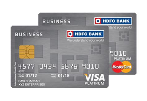 Register Mastercard Gift Card Online - business platinum credit card get cashback on all retail spends hdfc bank