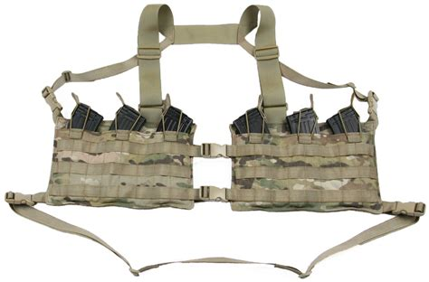 Chest Rug by Ak47 Chest Rig Split Front Beez Combat Systems