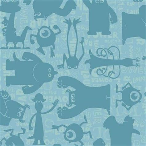 Home Decor Murals Ds7753 Monsters Inc Childrens Totalwallcovering Com