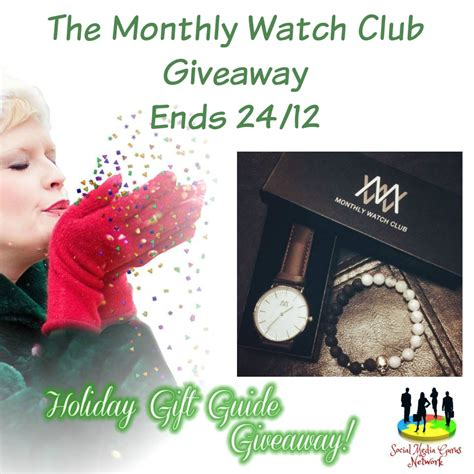 Giveaway Club - being on time monthly watch club giveaway monthlywatchca smgurusnetwork simply sherryl