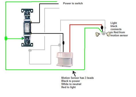 installing motion sensor light switch motion sensor switch wiring diagram quotes