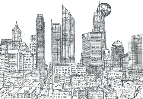 Brooklyn Bridge New York Coloring Pages
