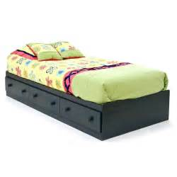 Wood Twin Bed Frame With Drawers Twin Size Platform Bed Plans Www Woodworking Bofusfocus Com