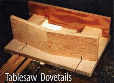 table  dovetail sled woodarchivist